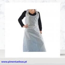 Avental plástico descartável